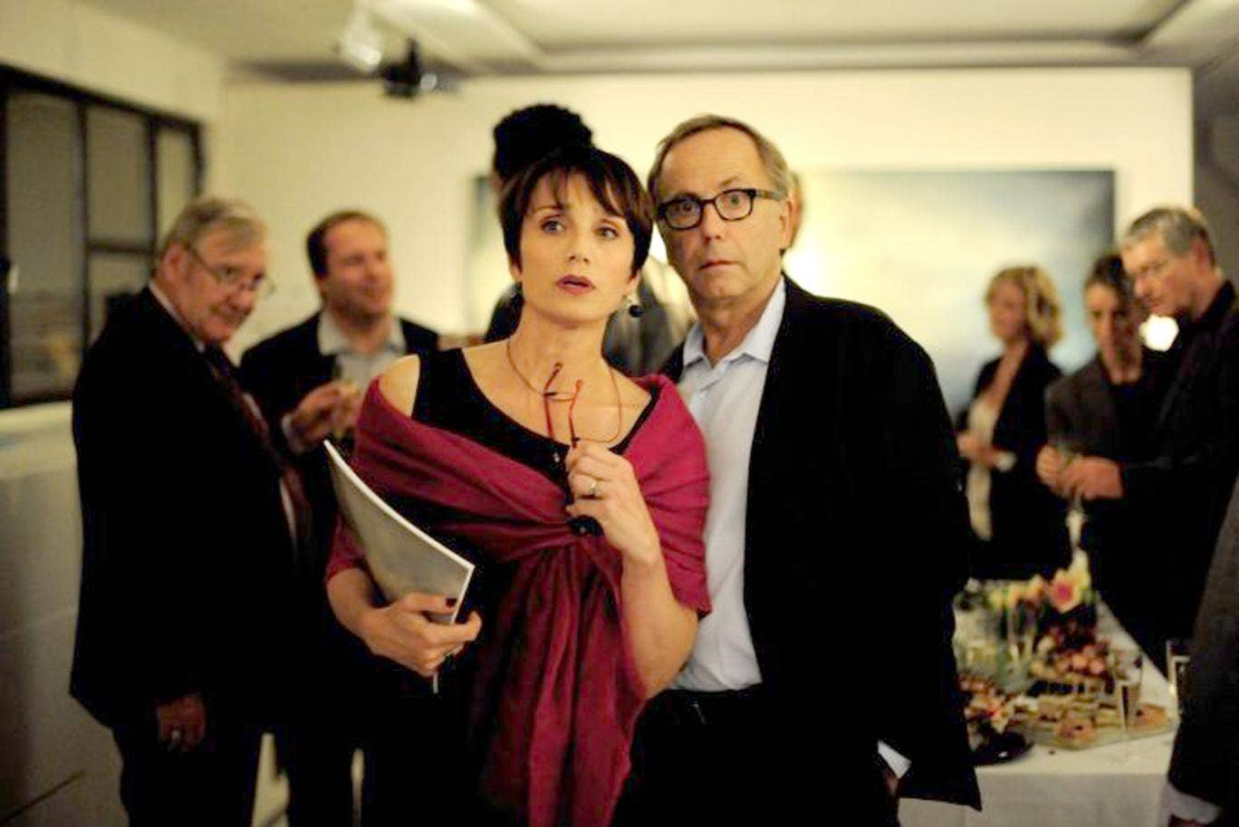 Kristin Scott Thomas and Fabrice Luchini in François Ozon's playful 'In the House'