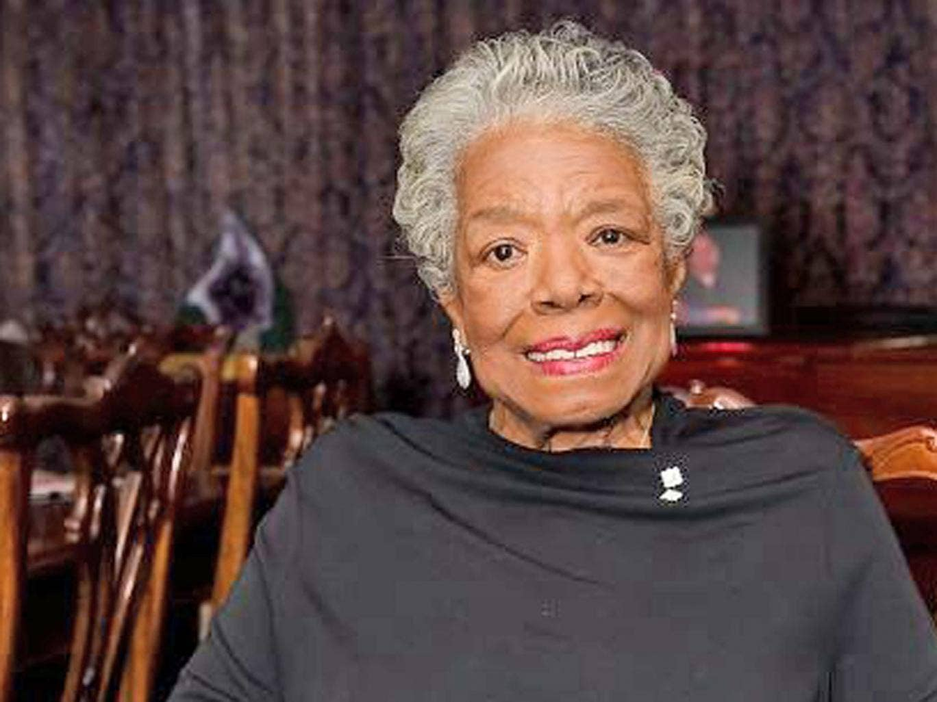 Where is Maya Angelou's Touched by an Angel published?
