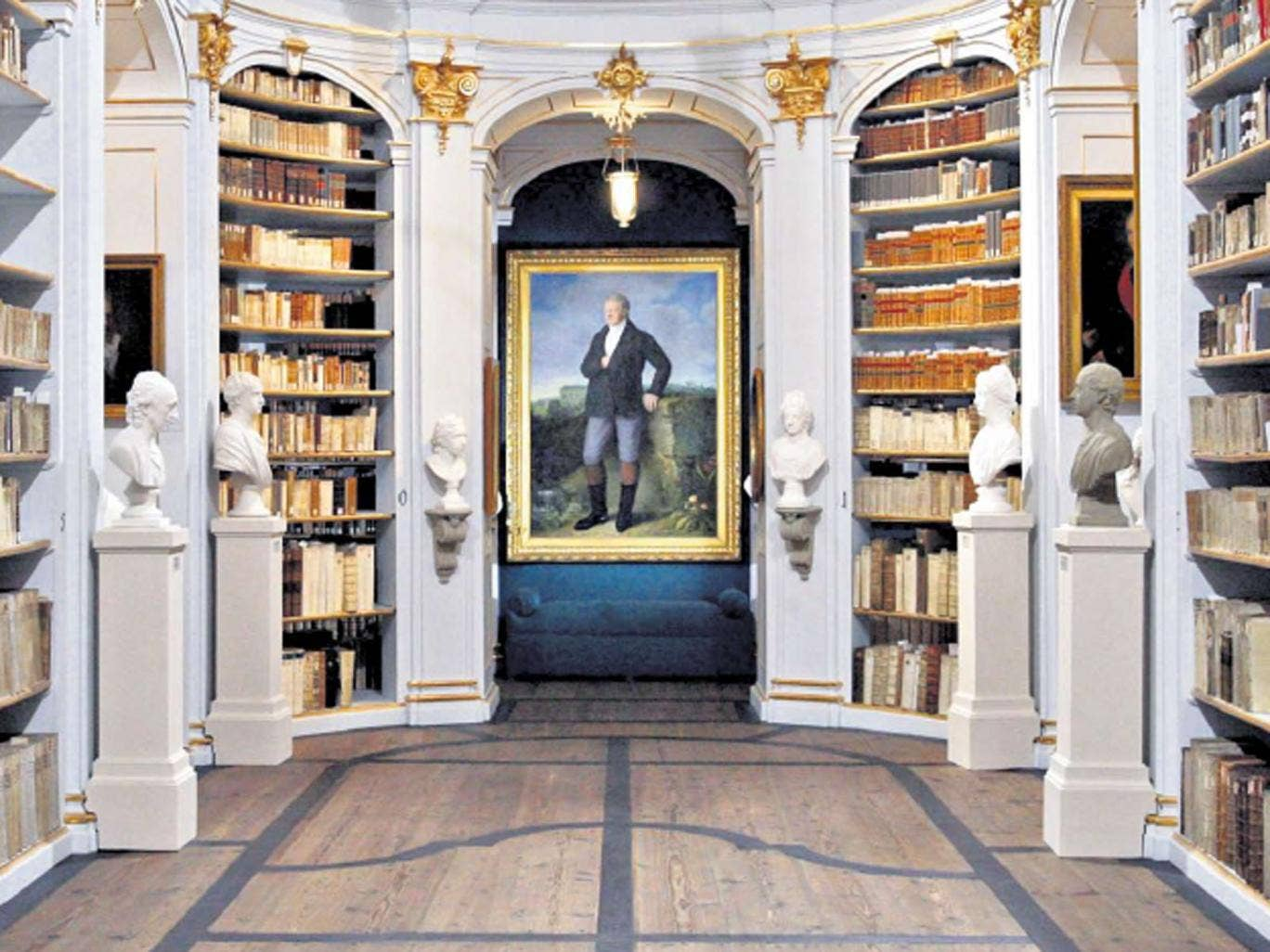 Book now: The restored Rococo interior of Weimar's fire-damaged Duchess Anna Amalia Library