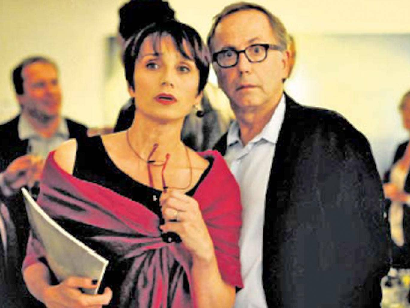 Kristin Scott Thomas and Fabrice Luchini become party to a guilty secret in In The House