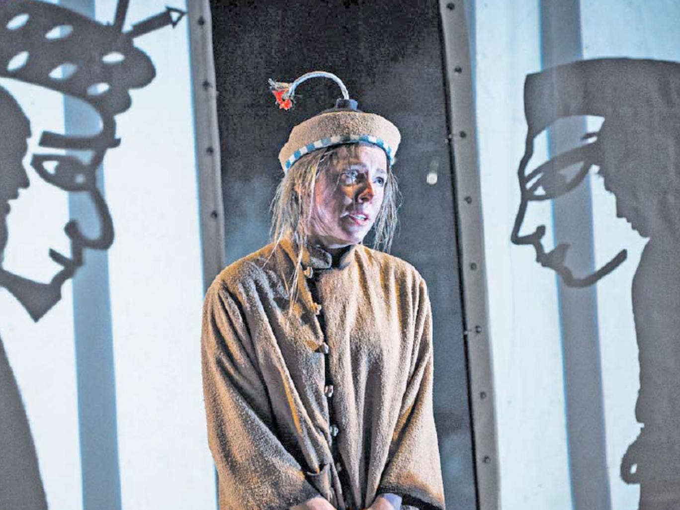 China girl: Mary Bevan (Lila) in Hull Truck's The Firework Maker's Daughter