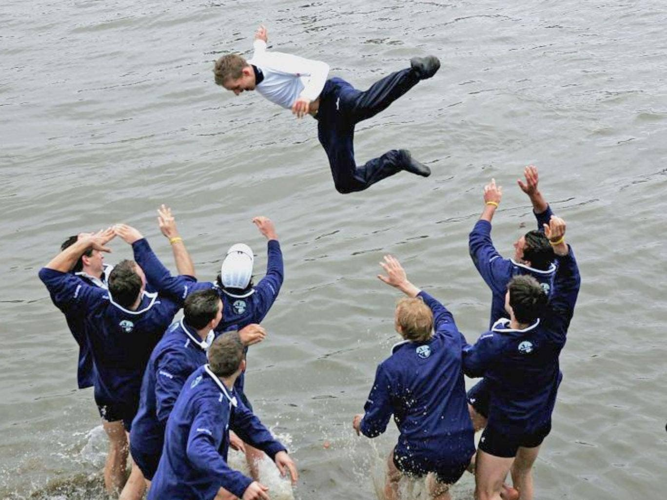 In memory: Acer dunked after Oxford's 2005 win