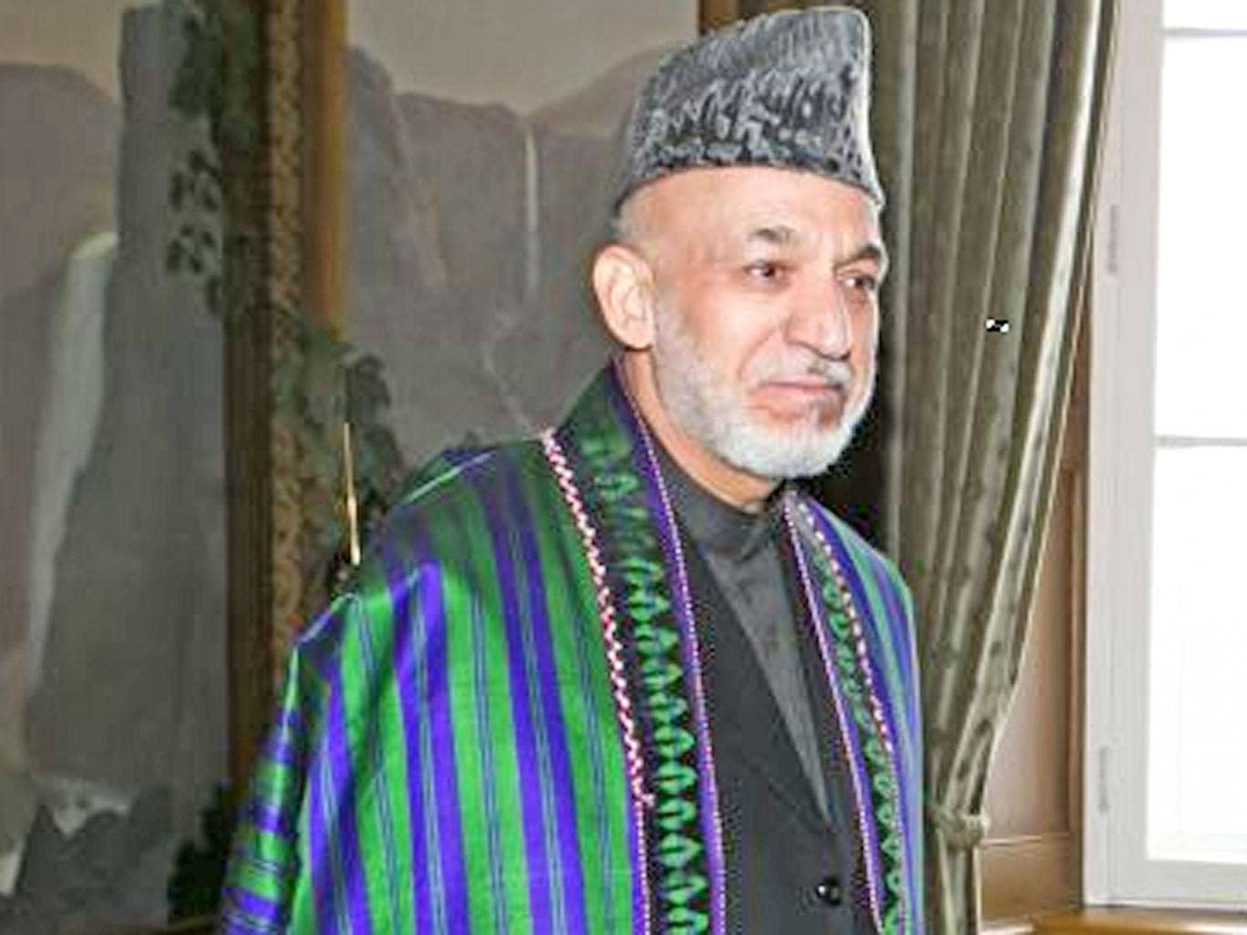 President Karzai is due to step down next year