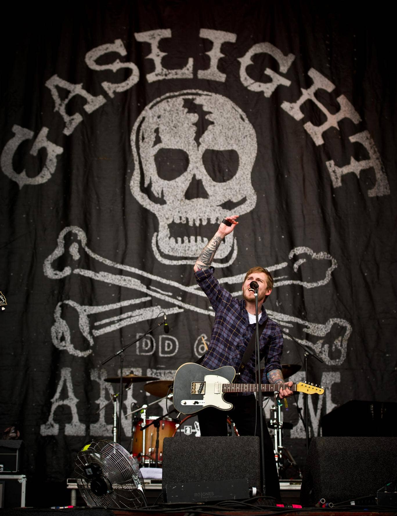 Brian Fallon of Gaslight Anthem