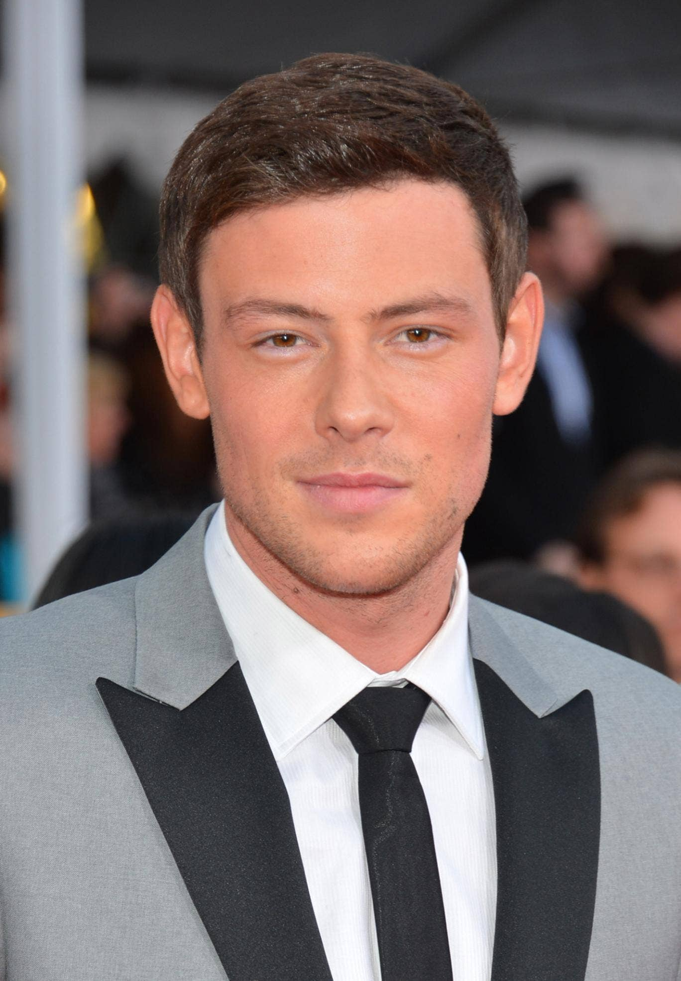 Cory Monteith who plays Finn in Glee