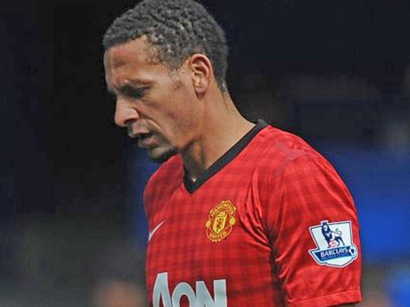 Rio Ferdinand gets a hard time from Chelsea supporters