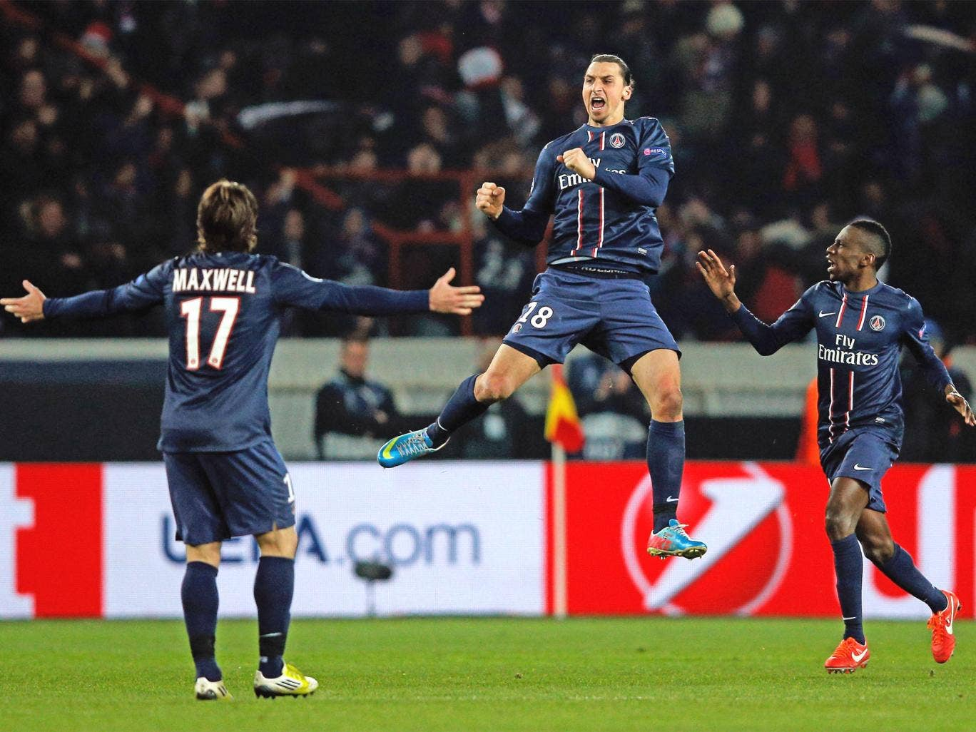 Zlatan Ibrahimovic scored PSG's first