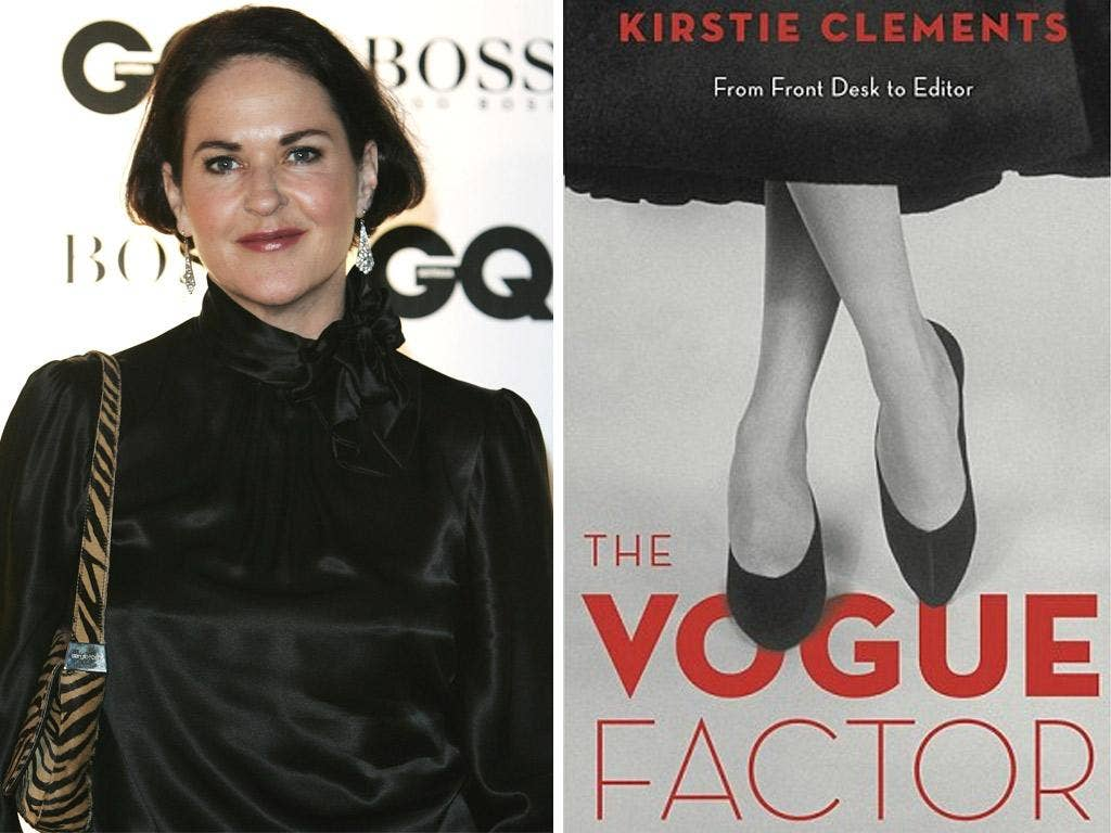 Ex-Vogue Australia editor Kirstie Clements and her book