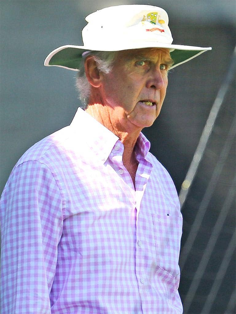 The chairman of selectors, John Inverarity, said Australia were in a period of transition