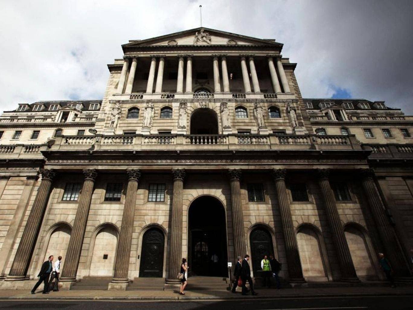 The Bank of England announced that interest rates will stay at 0.5 per cent