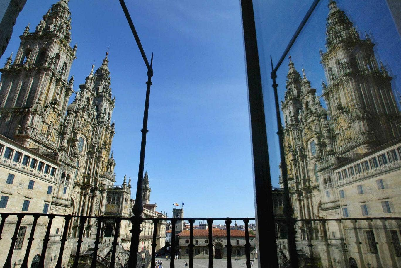 Spanish roots: Santiago Cathedral, in Santiago de Compostela