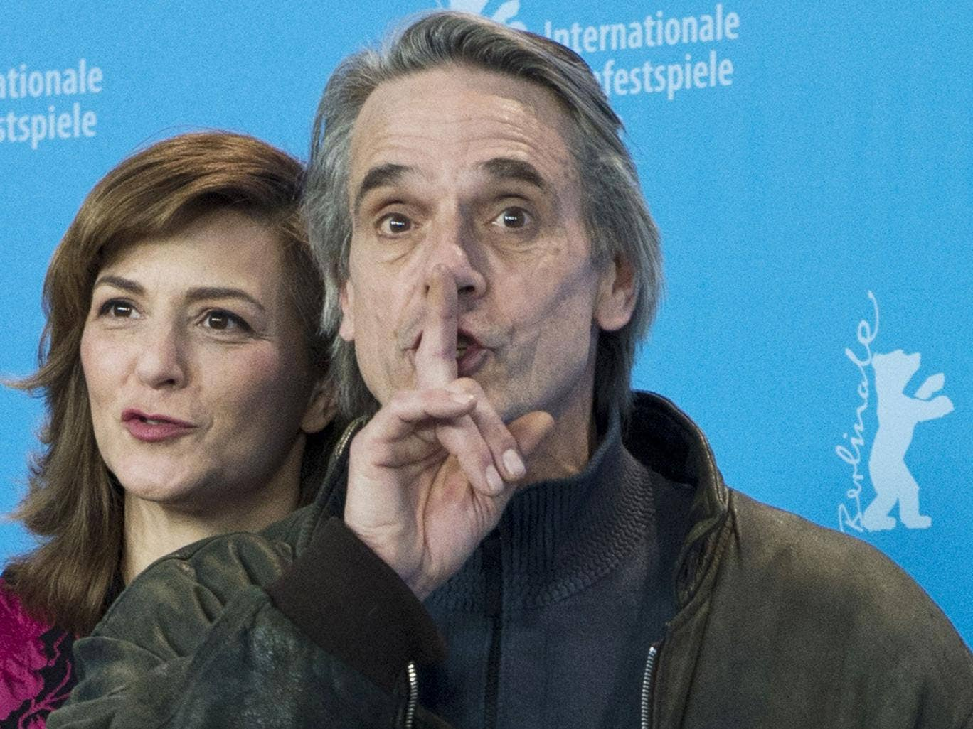 Jeremy Irons has form in shooting his mouth off