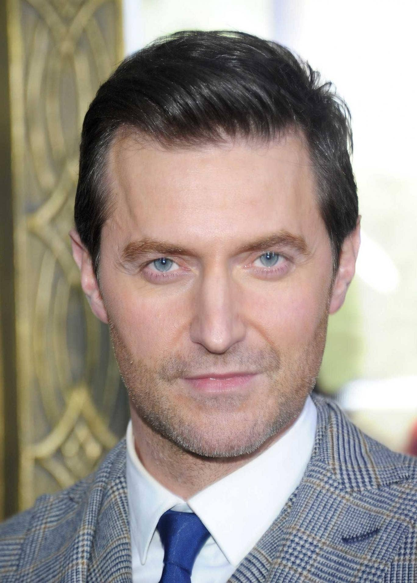 Armitage says: 'It's bloody annoying being shy. I'll spend a whole evening at a party asking everyone else about themselves.'