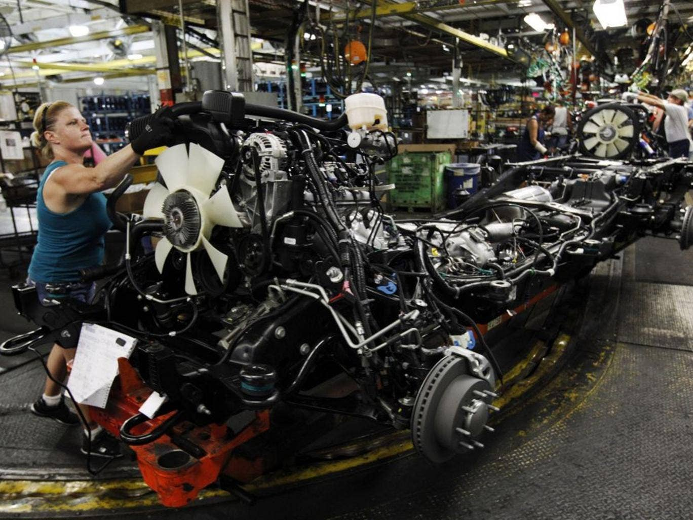 An American car worker: poor data on jobs hit US stocks yesterday