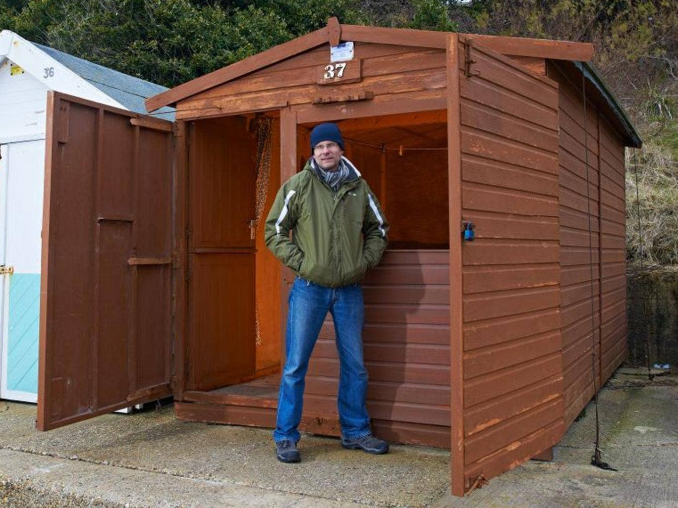 Murray Dellow has been trying to sell his beach hut at Holland-on-Sea since summer 2010