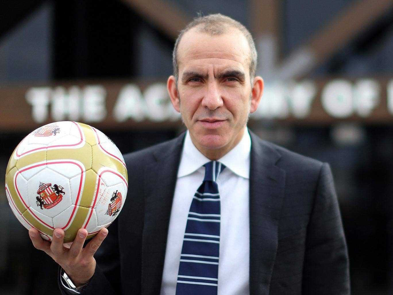 No hand grenade: but Paolo Di Canio is still holding firm to his principles