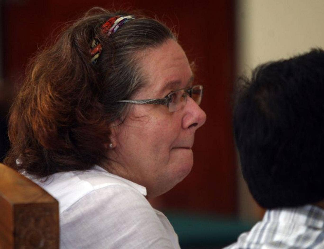Lindsay Sandiford, 56, was sentenced to death at Denpasar District Court in January