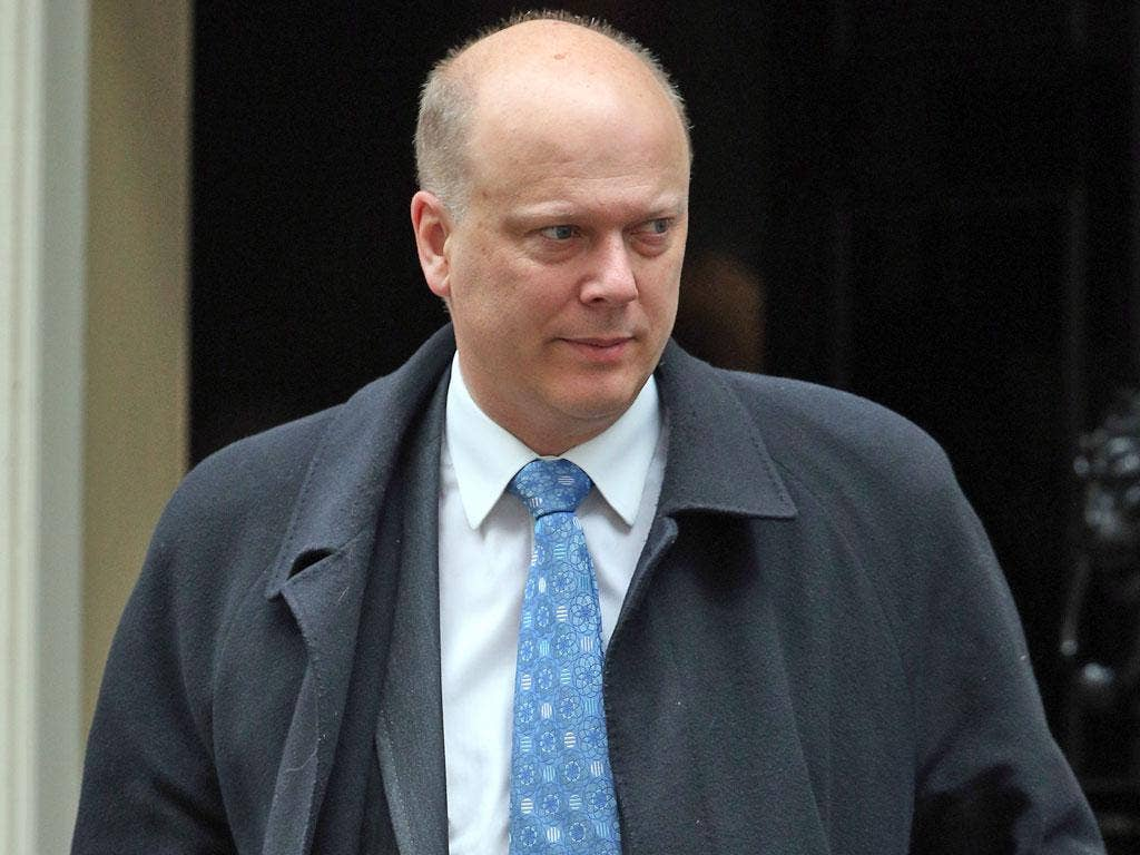 Justice Secretary Chris Grayling wants criminals to pay the cost of their trials
