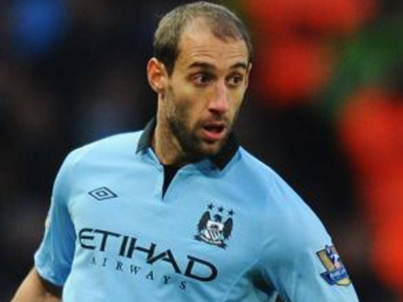 PABLO ZABALETA (7): Worked characteristically hard up and down the right and made important interventions in his own box