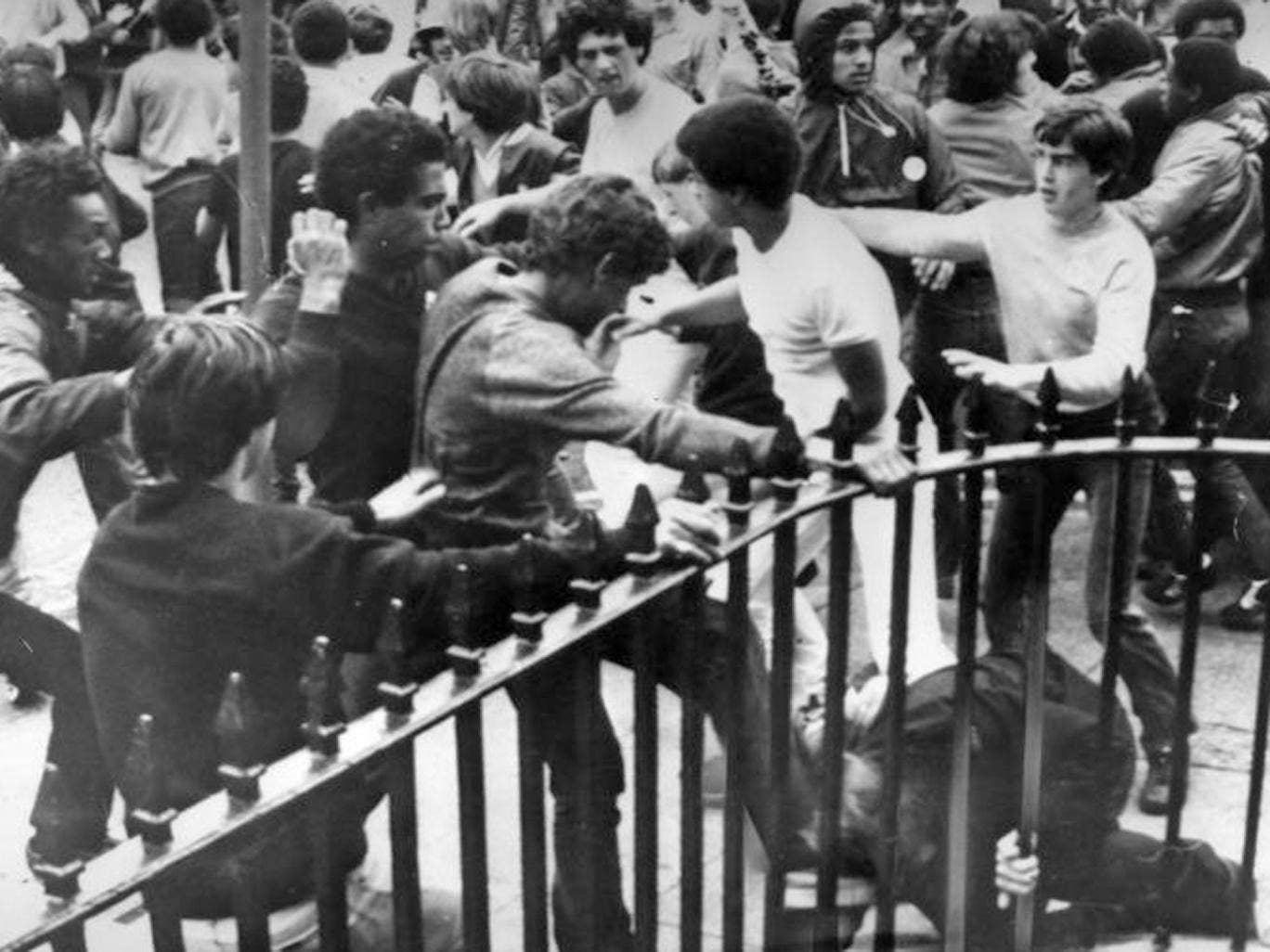 August 1981: Riots in Toxteth during an anti-police demonstration
