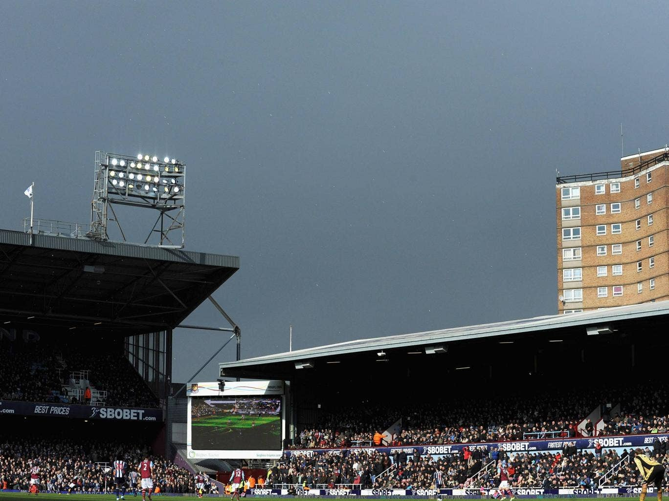 A view of West Ham's Upton Park