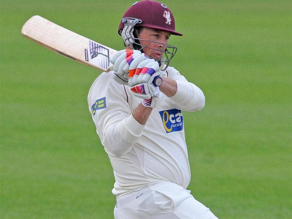 Somerset's inspirational captain Marcus Trescothick