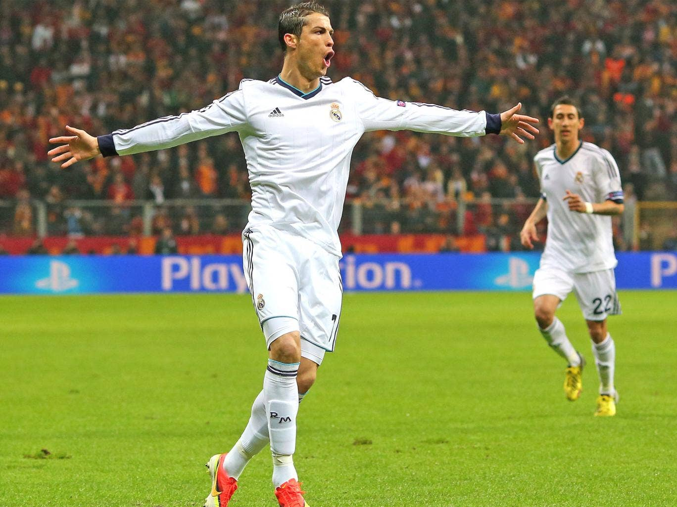 Ronaldo's early goal put the tie beyond Galatasaray even though the Turkish went on to win Wednesday's second leg