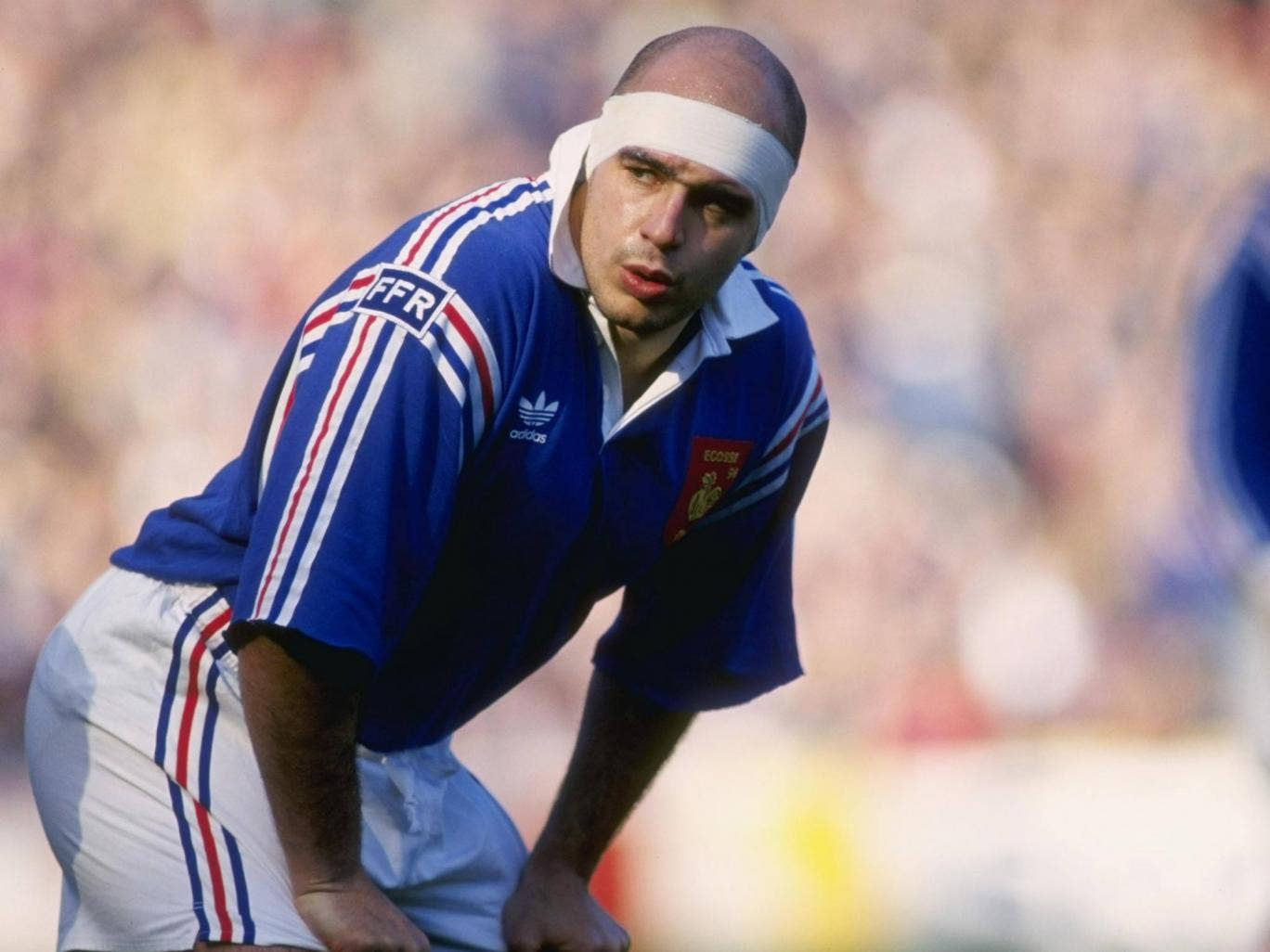 Laurent Benezech during his playing days