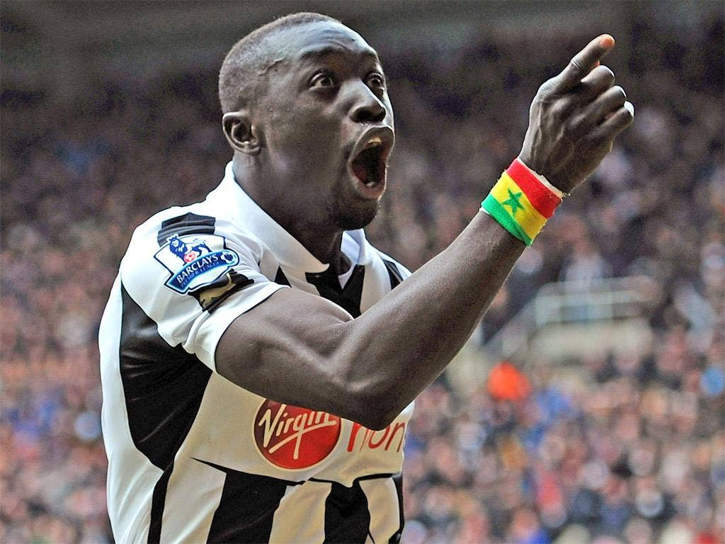 Papiss Cissé has scored three late winners but may not start against Benfica