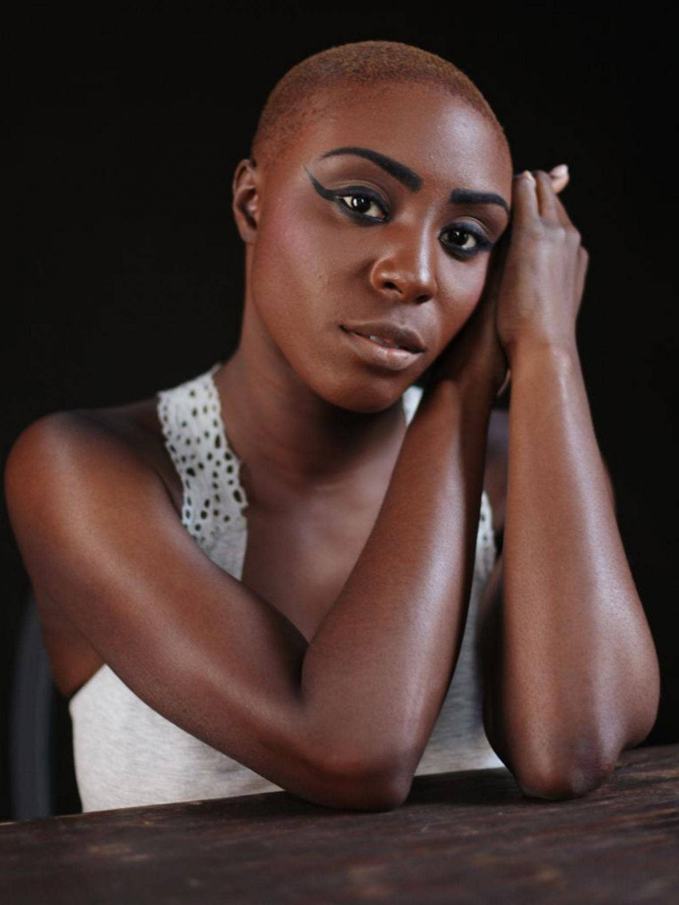 Starry eyes: singer Laura Mvula will shortly set off on her first UK tour