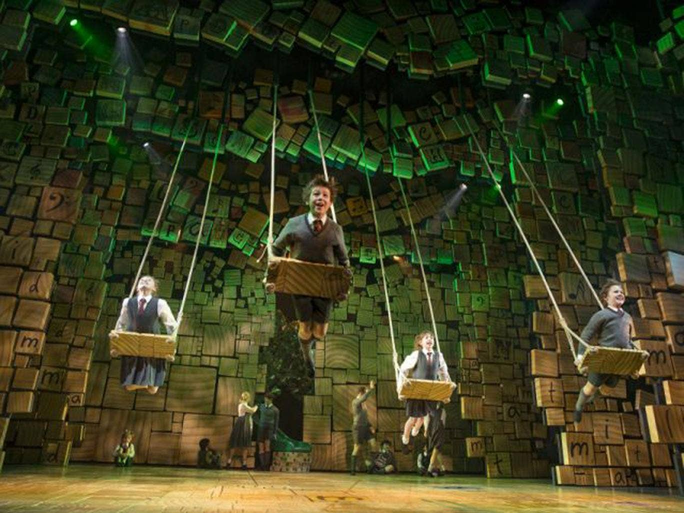 Matilda has been described as one of the best ever British musicals to hit Broadway