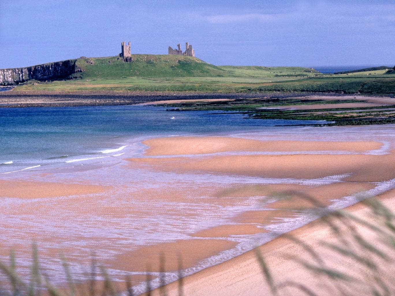 Majestic: Dunstanburgh Castle, in Northumberland