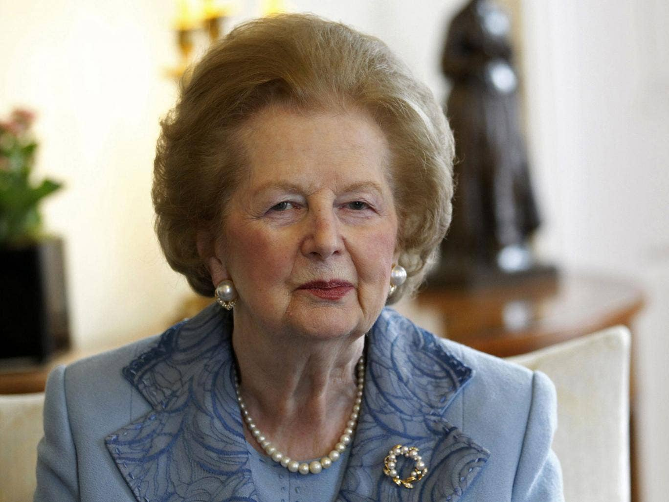 Cameron said Thatcher was 'the greatest British peacetime Prime Minister' - a claim with which British people tend to disagree