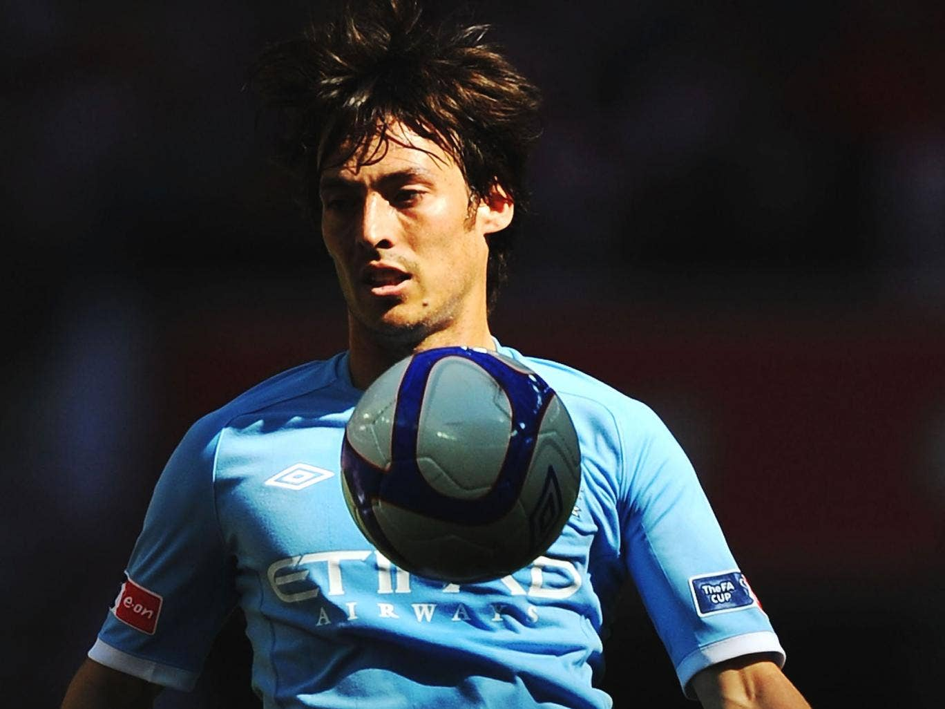 Out of United's shadow: 'We are building a team and a club and we will win many more titles,' says David Silva