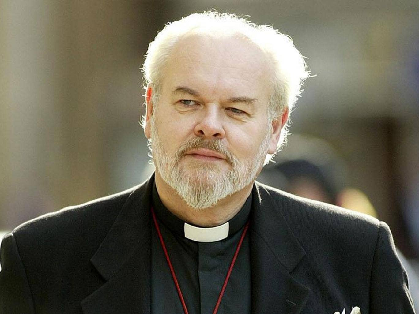 The Bishop of London, the Right Reverend Richard Chartres, is known for his outspoken views