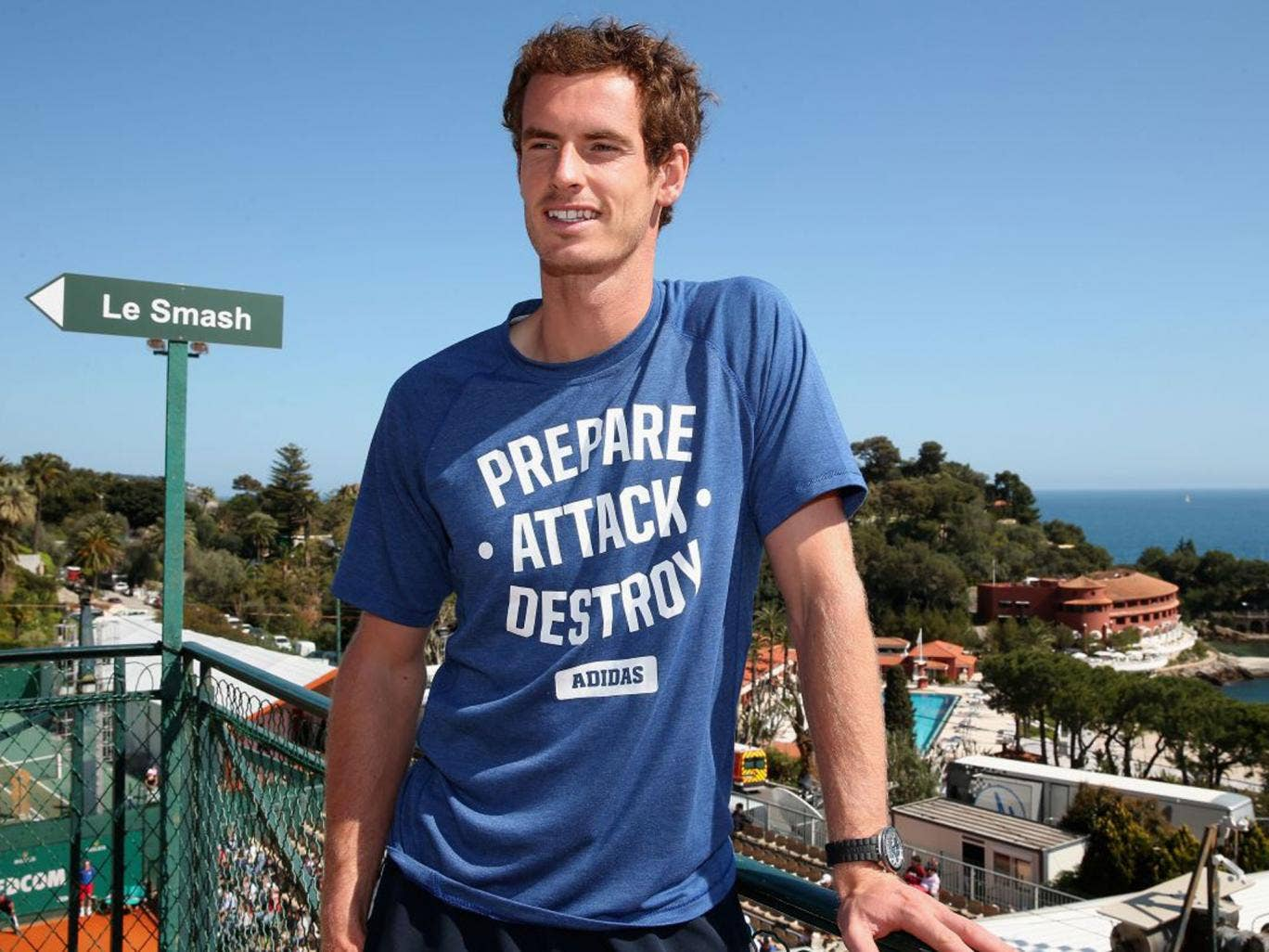 Andy Murray is confident of putting together a good run on clay