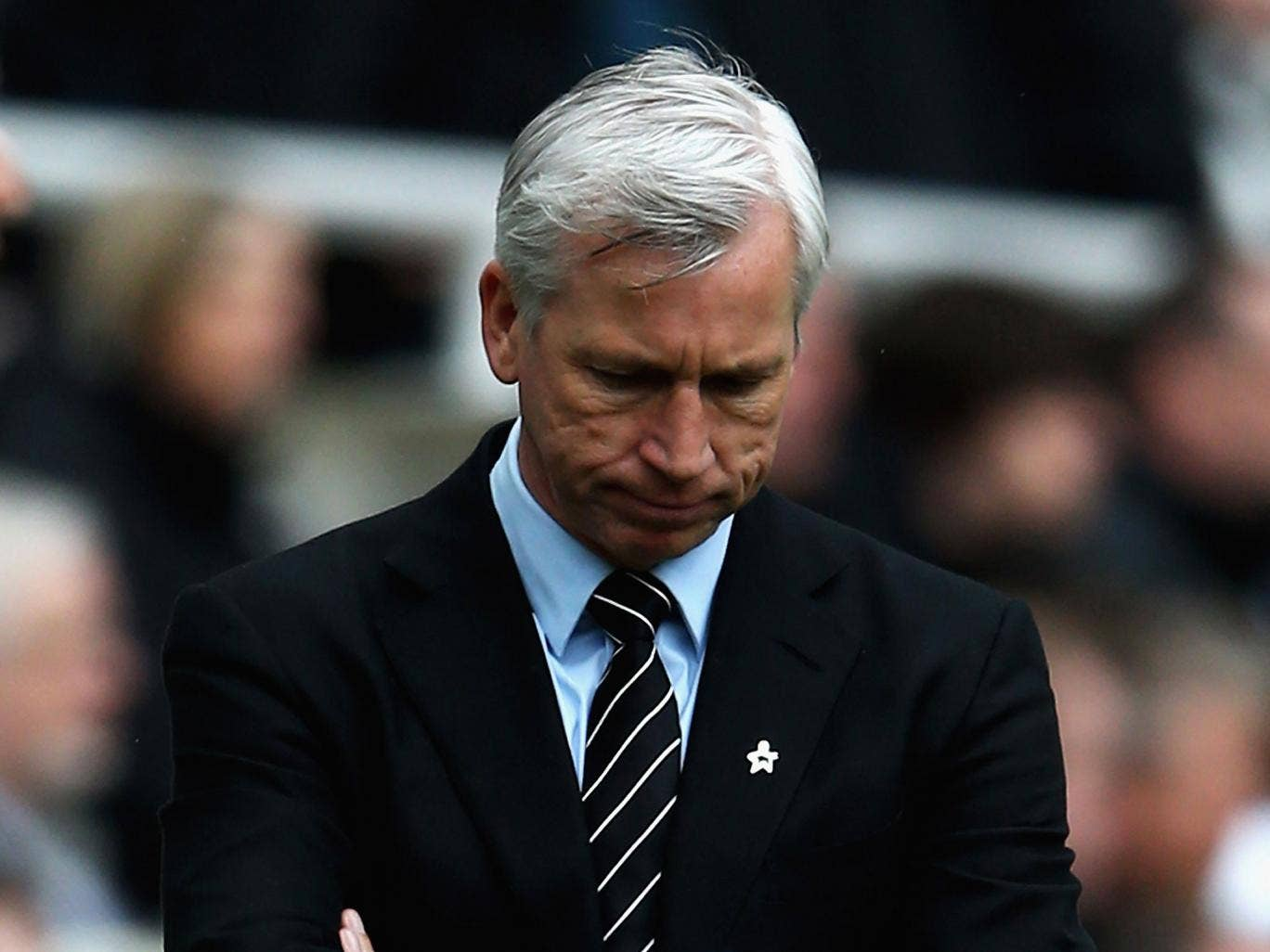 Alan Pardew admitted his side were second best in Sunderland v Newcastle
