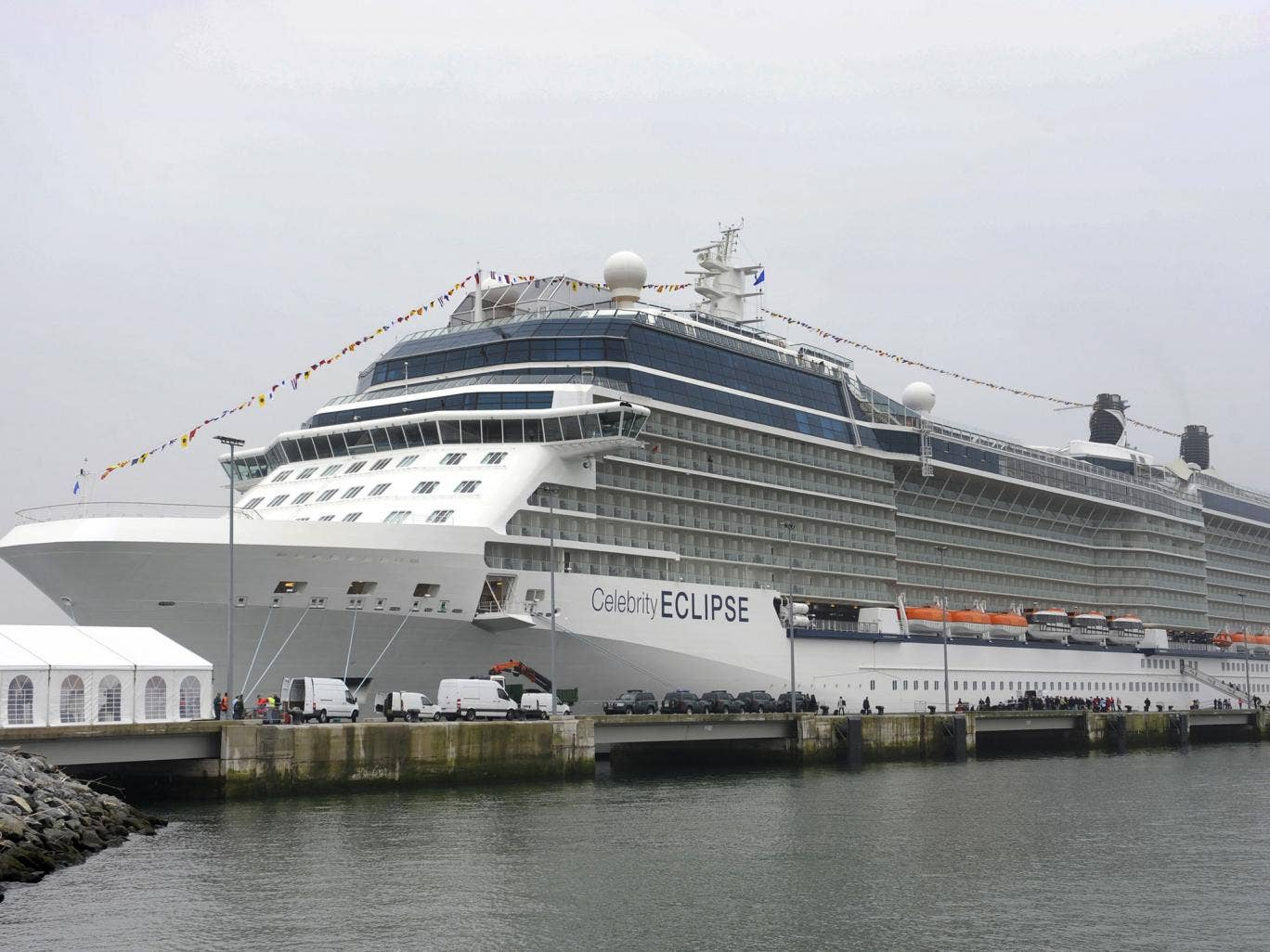 The 'Celebrity Eclipse' cruise liner