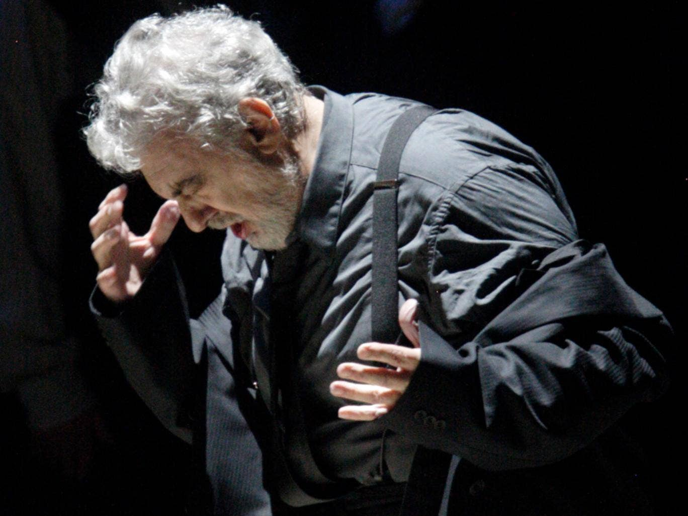 Placido Domingo has transformed the Covent Garden production of Nabucco