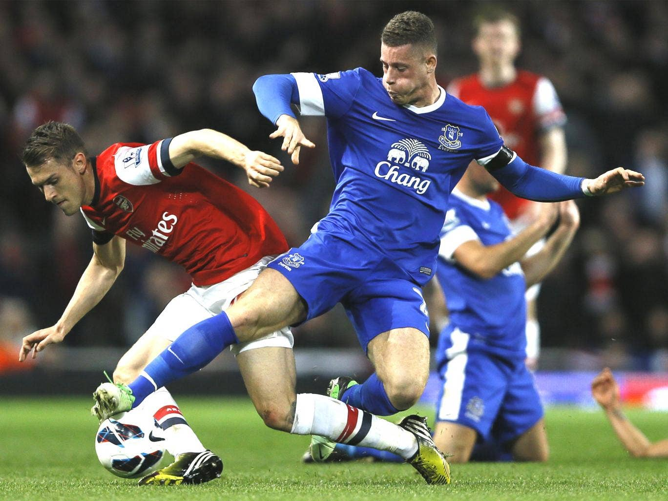 Ross Barkley, only 19, has started against Tottenham and Arsenal