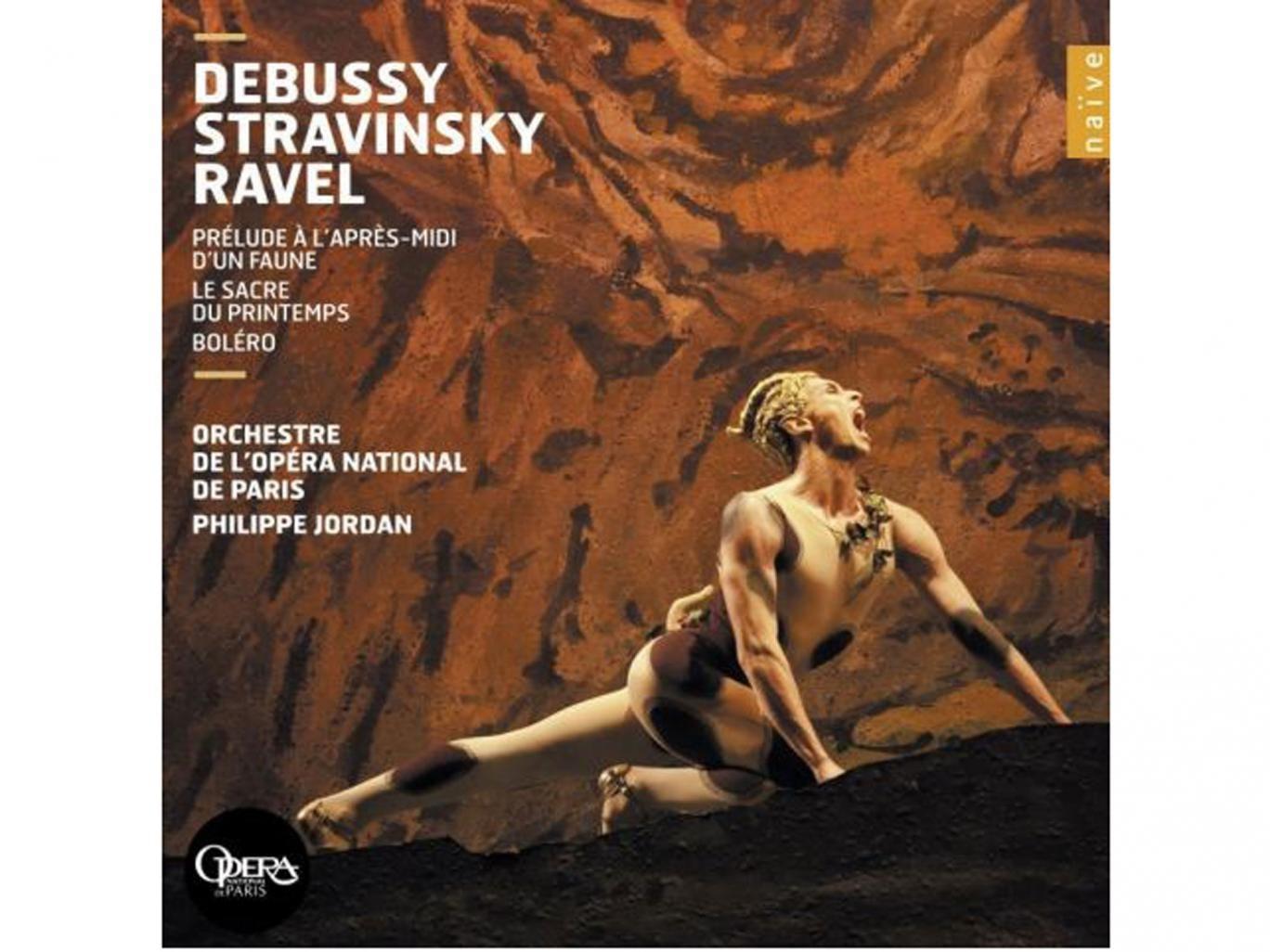 Philippe Jordan, Orchestre de L'Opéra De Paris Debussy, Stravinsky, Ravel (Naïve)