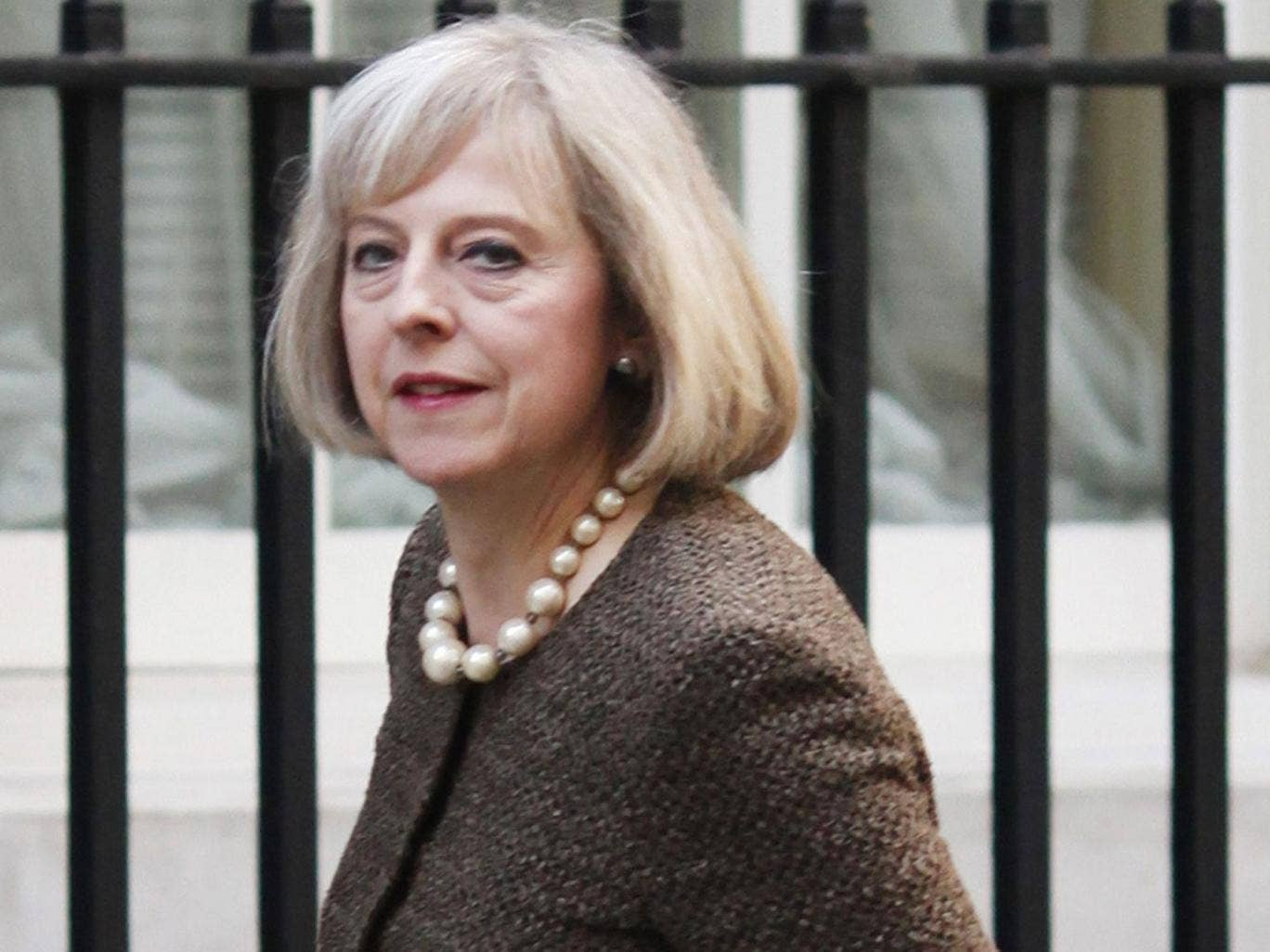 Theresa May: The Home Secretary has been urged to investigate the PCC's conduct