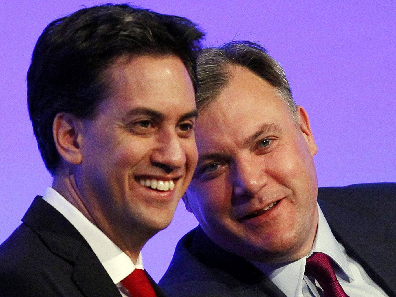 Leading labour MPs Ed Miliband and Ed Balls will reject Tony Blair's more cautious approach to government spending and pledge to outspend the Conservatives
