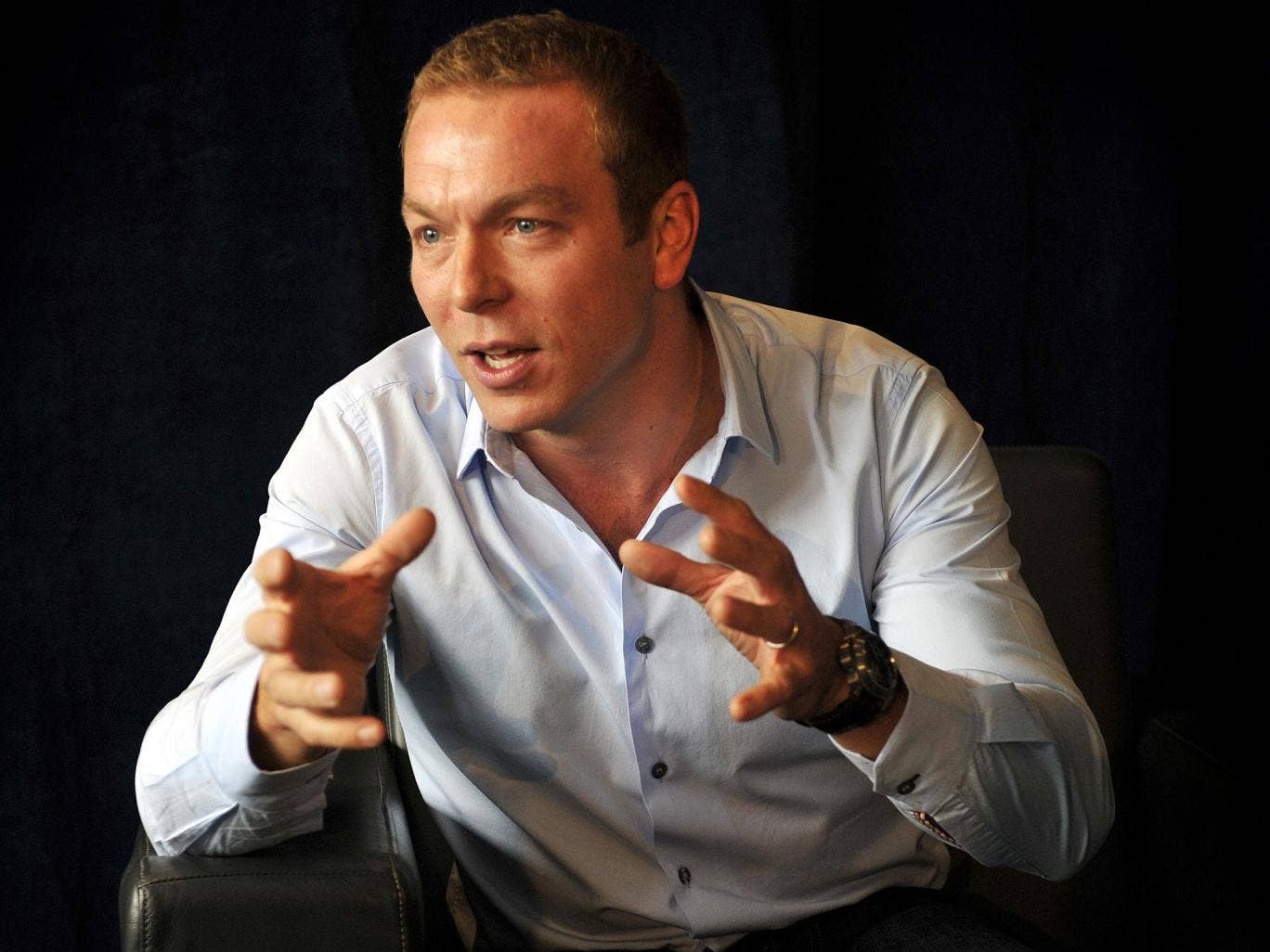 Sir Chris Hoy said he didn't want to start making up the numbers