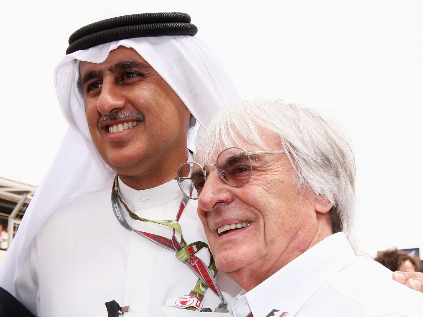 Zayed Rashed Al Zayani, Bahrain International Circuit chairman, has described protesters as 'terrorists'