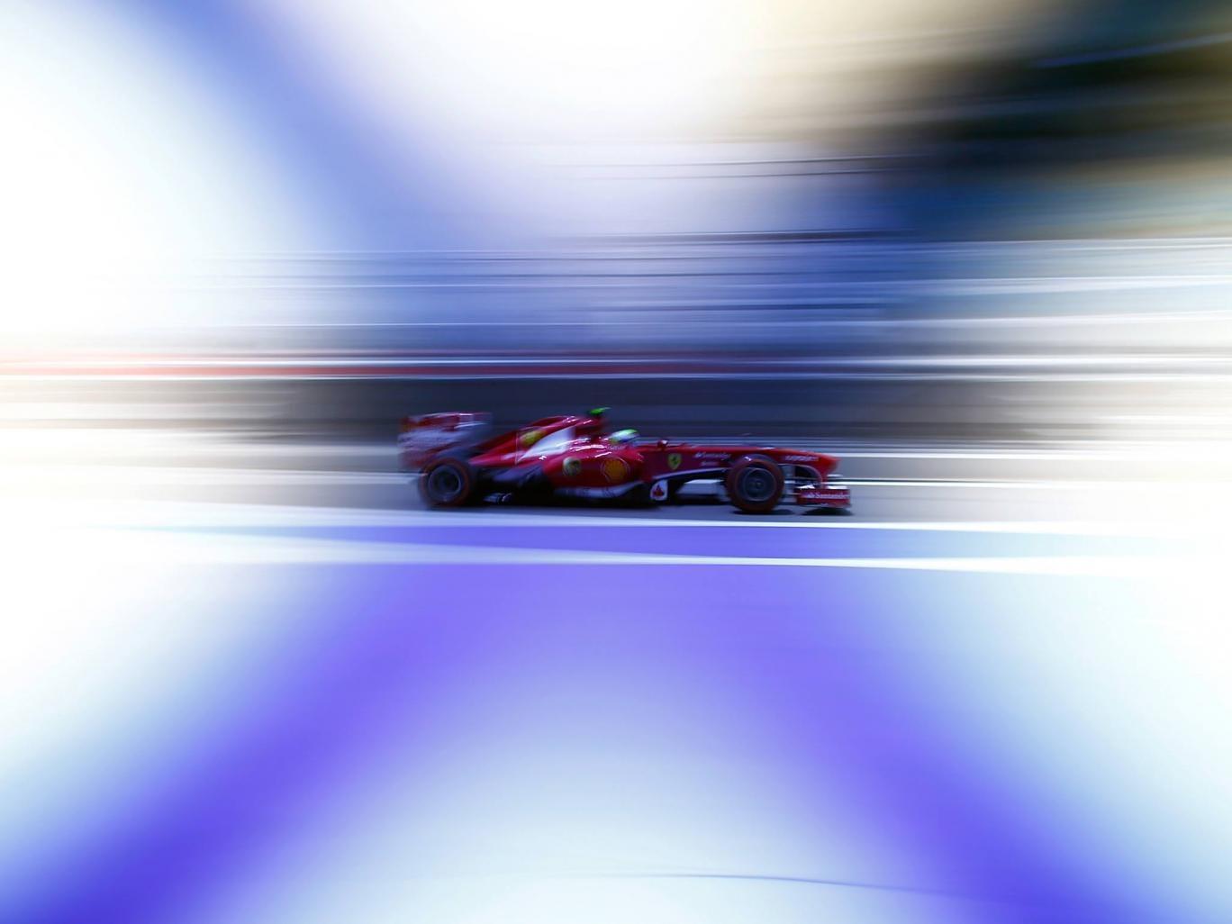 Felipe Massa at the Bahrain Grand Prix