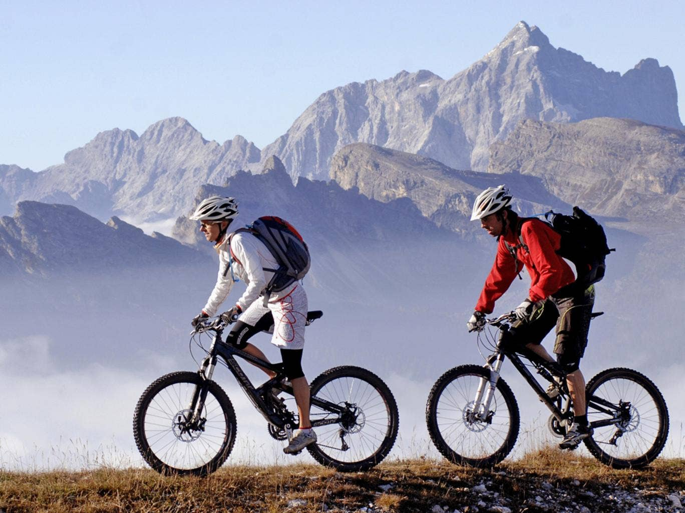 Go for a spin: cycling in the Faloria ski area