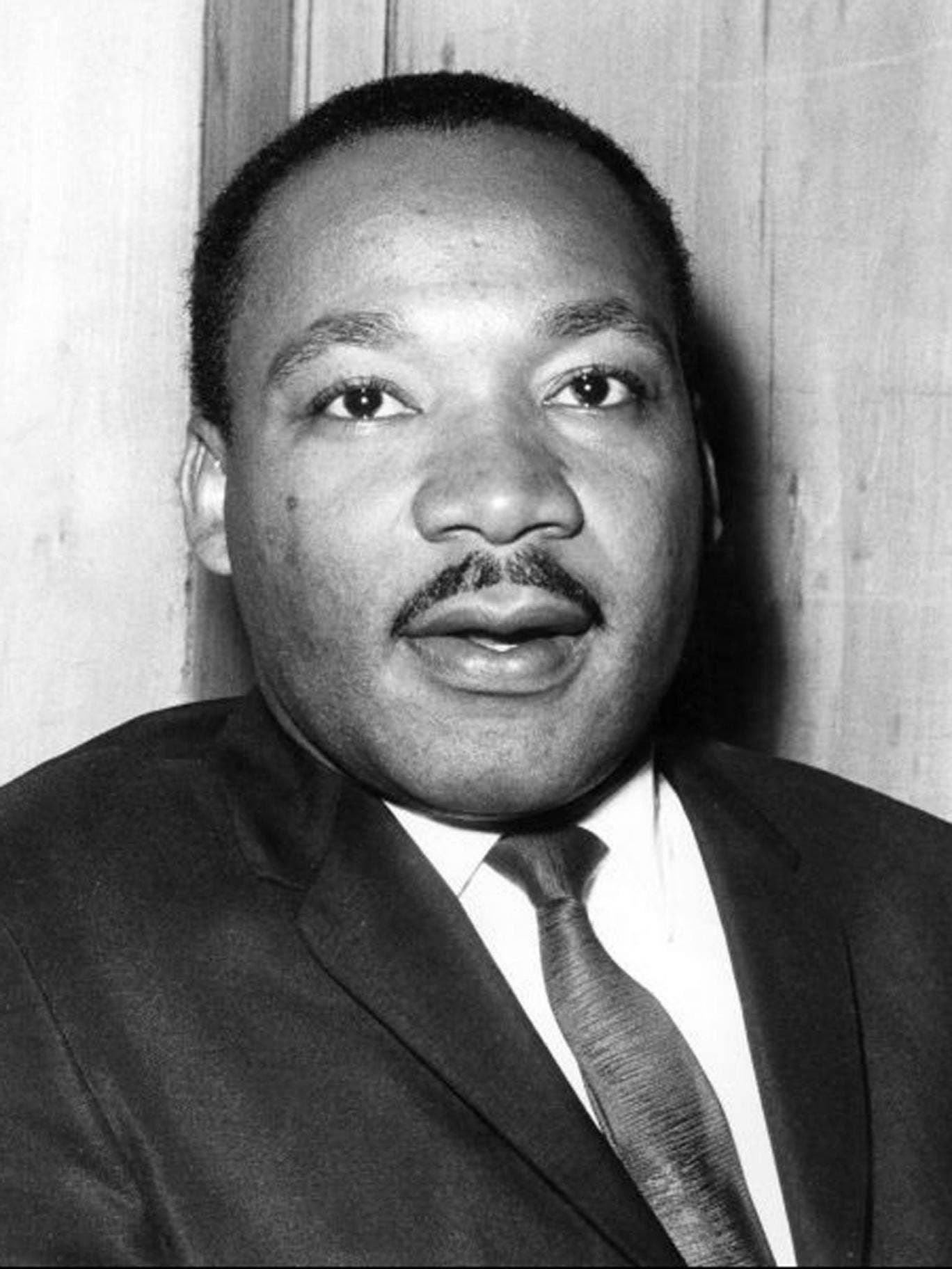 Martin Luther King had been imprisoned for taking his campaign of non-violent protest to the streets of Birmingham, Alabama