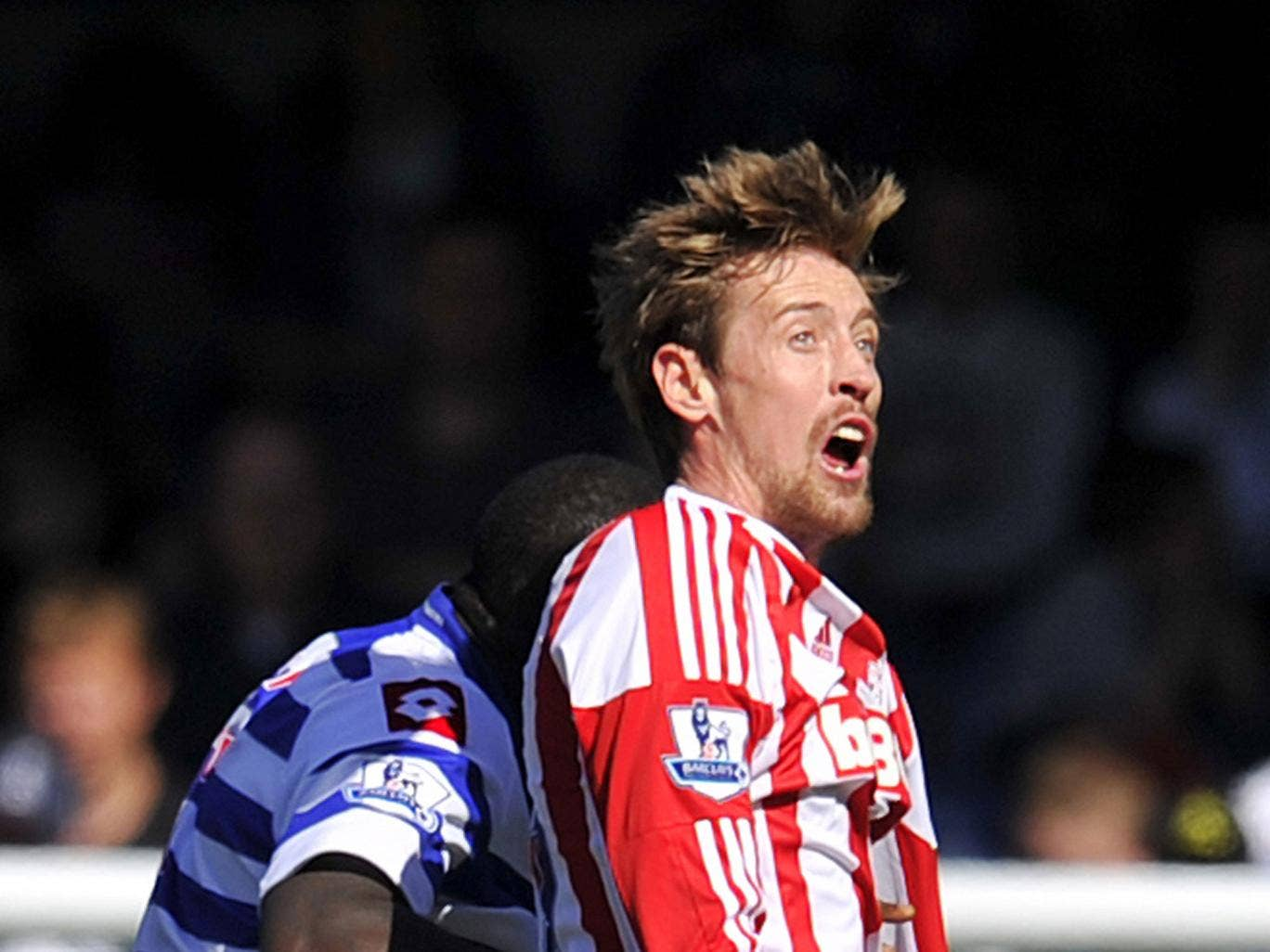 Stoke City want £3m for Peter Crouch - but West Ham are offering a third of that