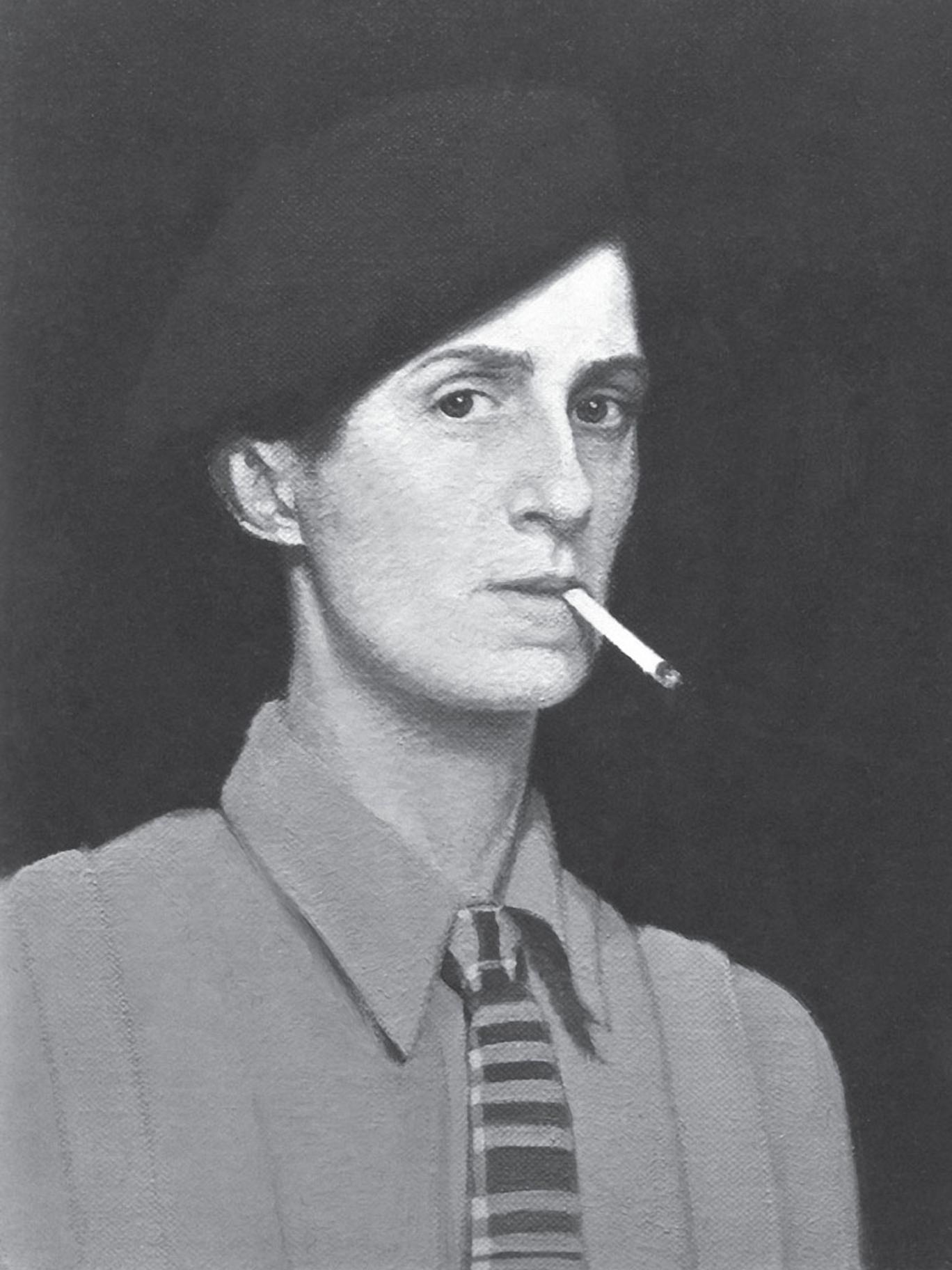 A self-portrait of Hannah 'Gluck' Gluckstein (1895-1978)